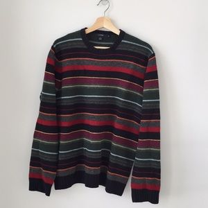 J Crew Men's striped sweater